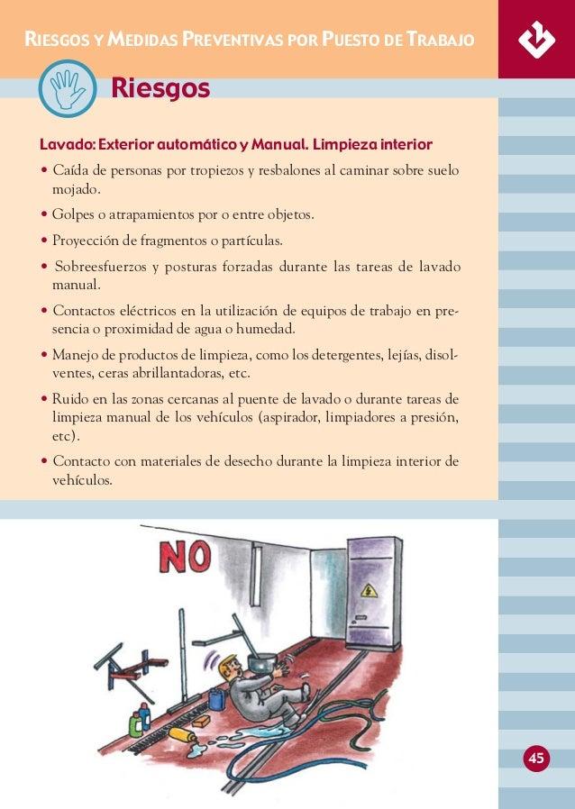 Manual de seguridad y salud en talleres mecanicos - El taller de pinero ...