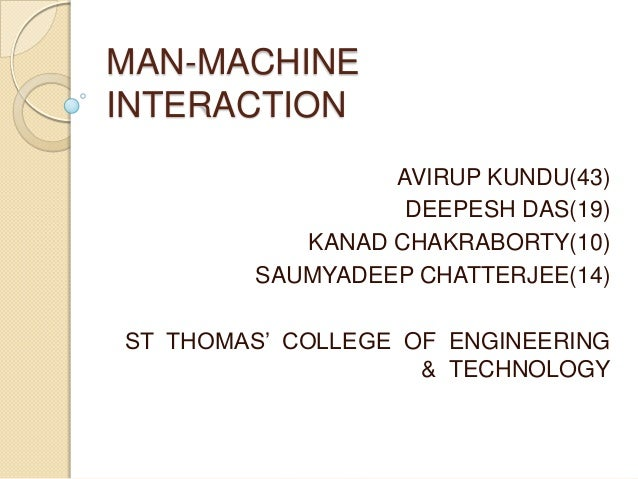 MAN-MACHINEINTERACTION                 AVIRUP KUNDU(43)                  DEEPESH DAS(19)           KANAD CHAKRABORTY(10)  ...