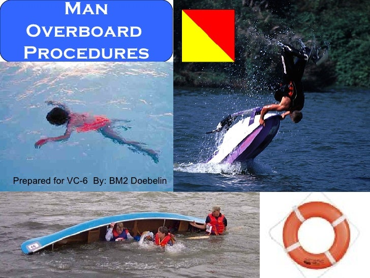 Man Overboard  Procedures Prepared for VC-6  By: BM2 Doebelin
