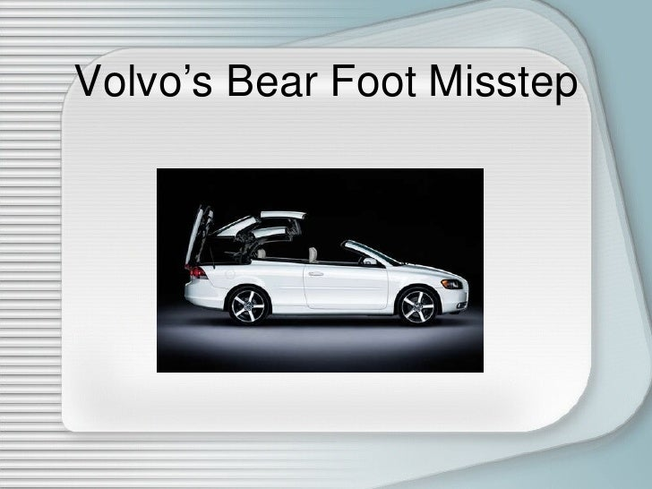 volvos bear foot misstep essay Humorous views on interesting, bizarre and amusing articles, submitted by a community of millions of news junkies, with regular photoshop contests.