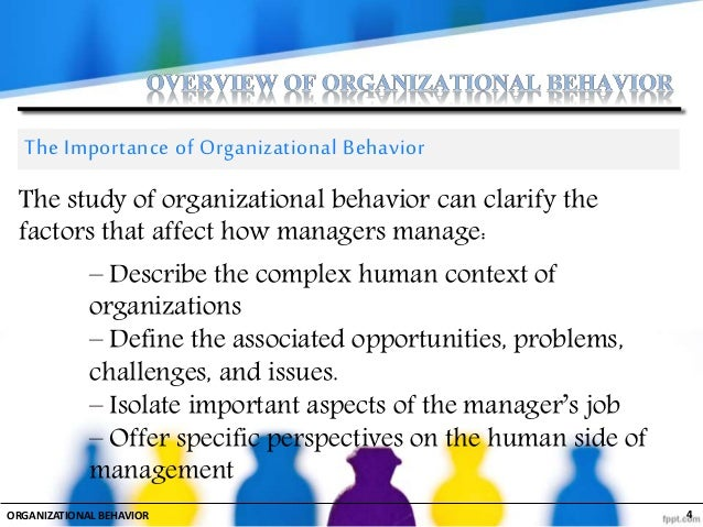 Overview of Organizational Behavior