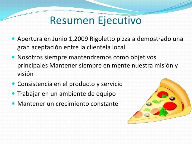 local pizza business plan