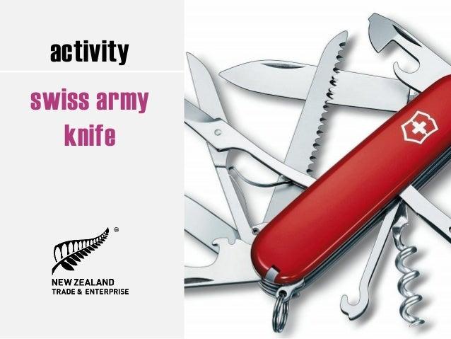 activity swiss army knife