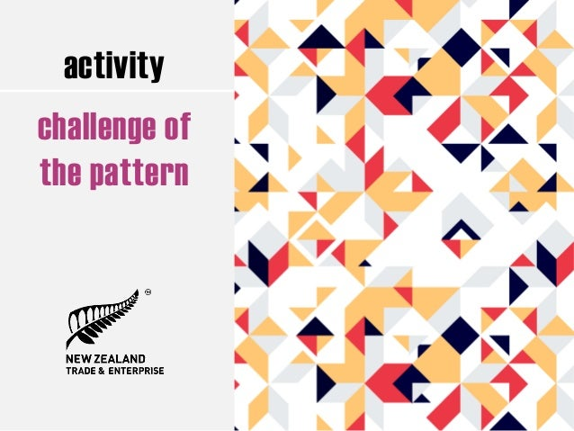 activity challenge of the pattern