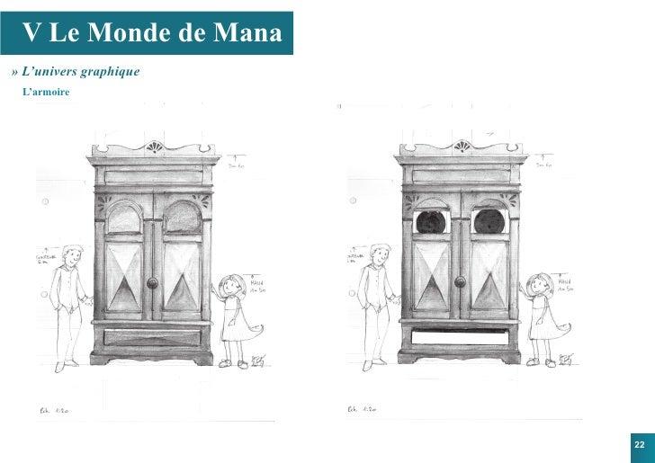 V Le Monde de Mana » L'univers graphique  L'armoire                             22