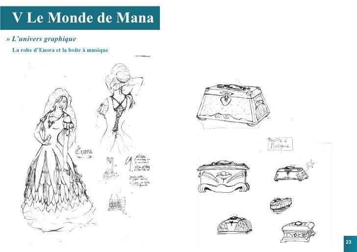 V Le Monde de Mana » L'univers graphique  La robe d'Enora et la boite à musique                                           ...
