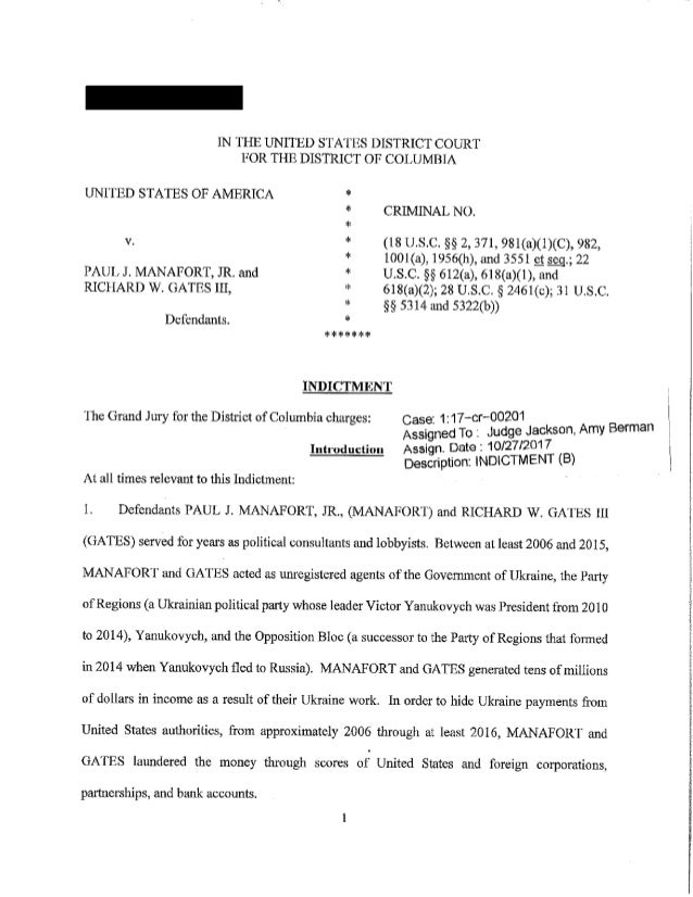 Manafort gates indictment-filed_and_redacted