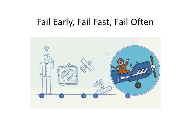 Fail Early, Fail Fast, Fail Often
