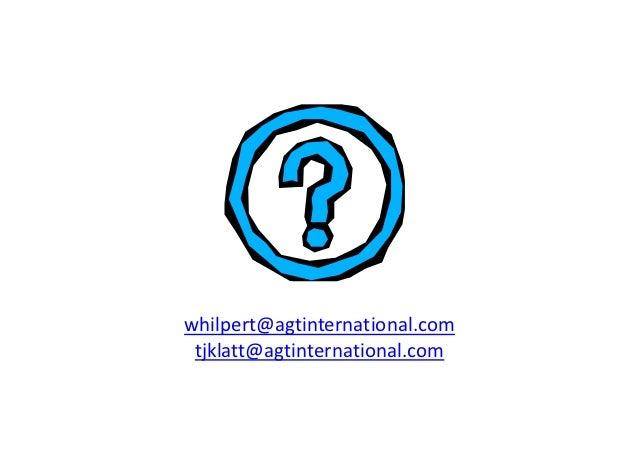 whilpert@agtinternational.com tjklatt@agtinternational.com
