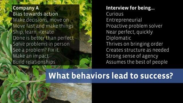 Make better hiring decisions