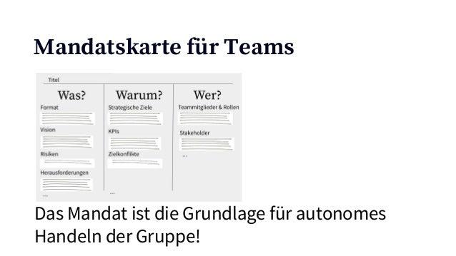 Verbundenheit von Teams ● Verbundenheit mit den Zielen der Organisation ● Empathie für Kunden und Nutzer systematisch entw...