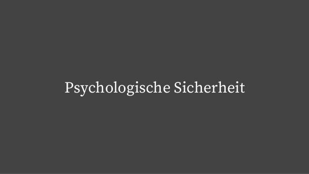 Psychologische Sicherheit