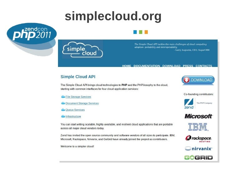 simplecloud.org                  October 2011
