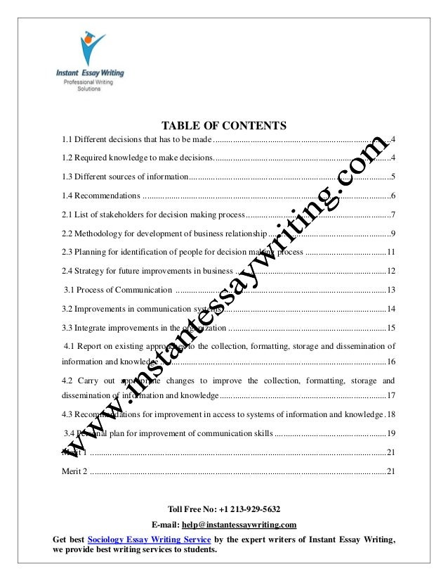 managing communications knowledge & information essay Below is an essay on managing communications, knowledge and information unit 16 from anti essays, your source for research papers, essays, and term paper examples managing communications, knowledge and information unit 16.
