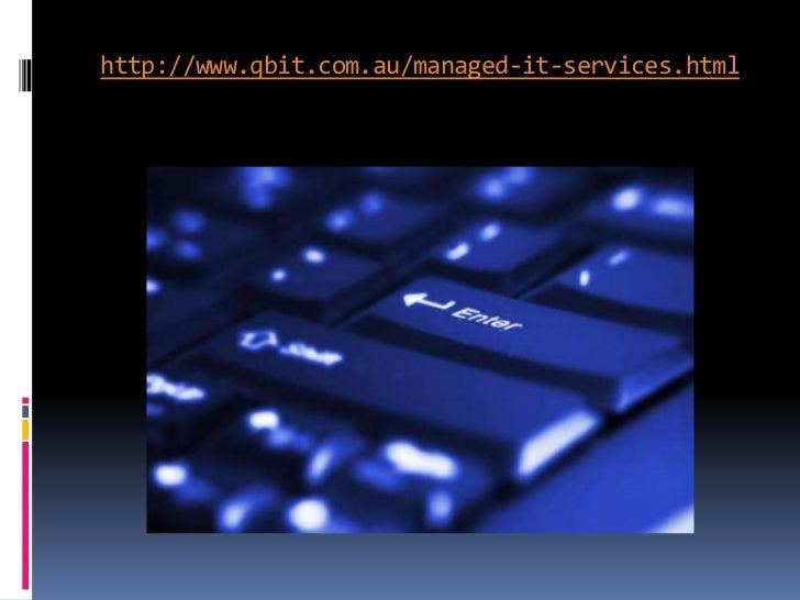 Managed IT Services Slide 2