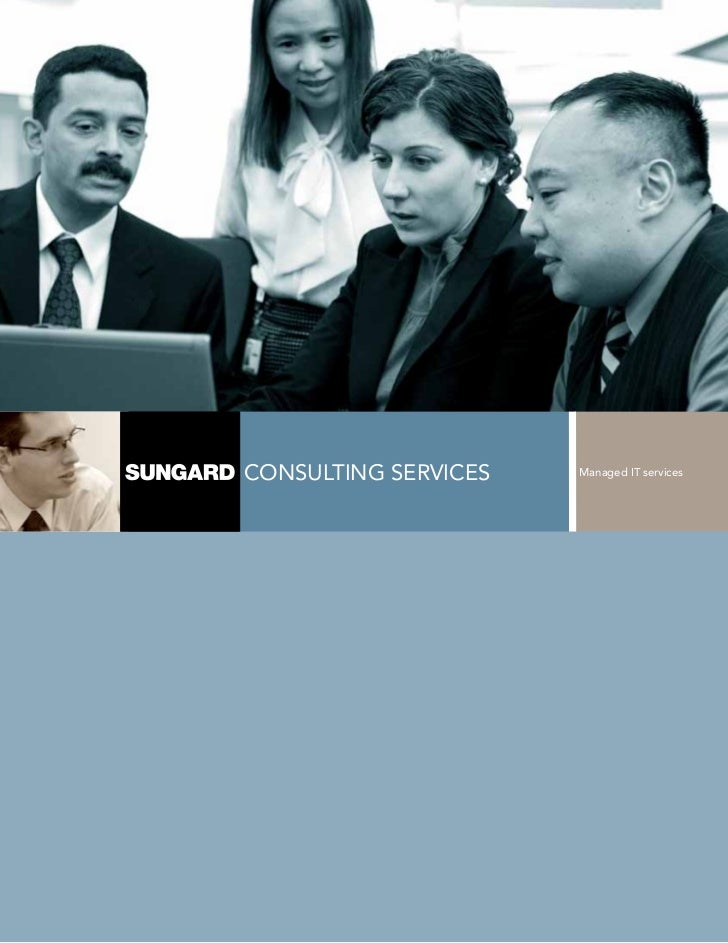 consulTIng servIces   Managed IT services