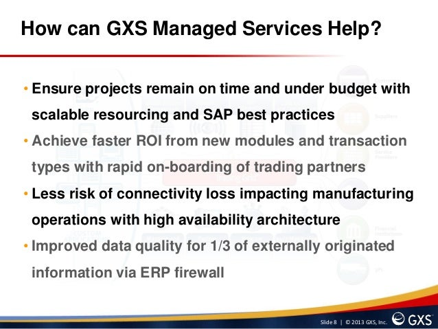 Gxs managed services for sap part 2 sciox Choice Image