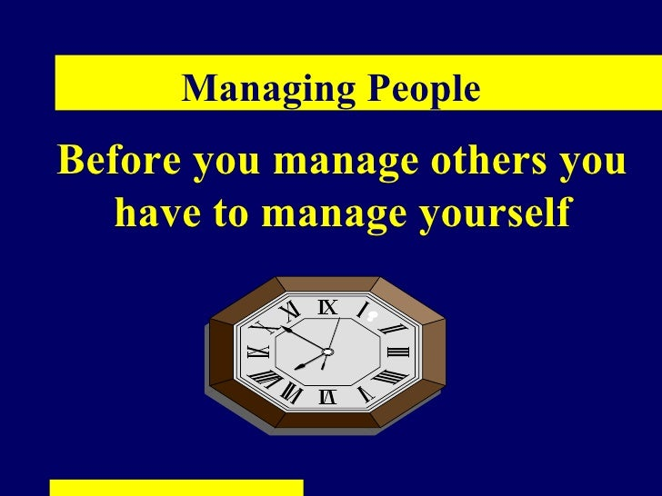 managing people The manager's toolkit: a practical guide to managing people at work from university of london, birkbeck, university of london the aim of this course is to give you a practical guide to.