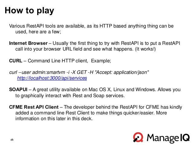 Design Summit - RESTful API Overview - John Hardy