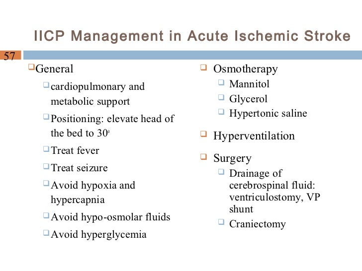 "management of ischemic stroke part 1 Full-text paper (pdf): acute ischemic stroke treatment, part 1: patient selection ""the 50% barrier and the capillary index score""."