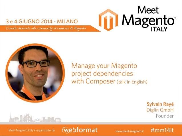 Sylvain Rayé - Meet Magento Italy 20141