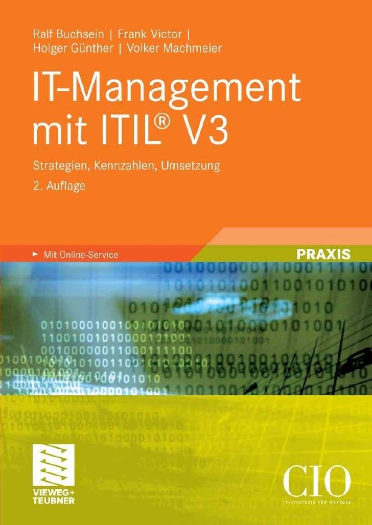 Ralf Buchsein | Frank Victor | Holger Günther | Volker Machmeier  IT-Management mit ITIL® V3