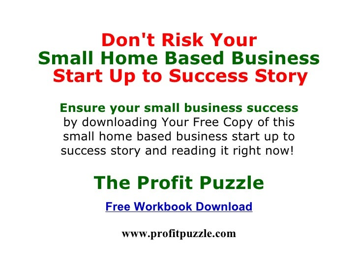 management for small business home start up to success