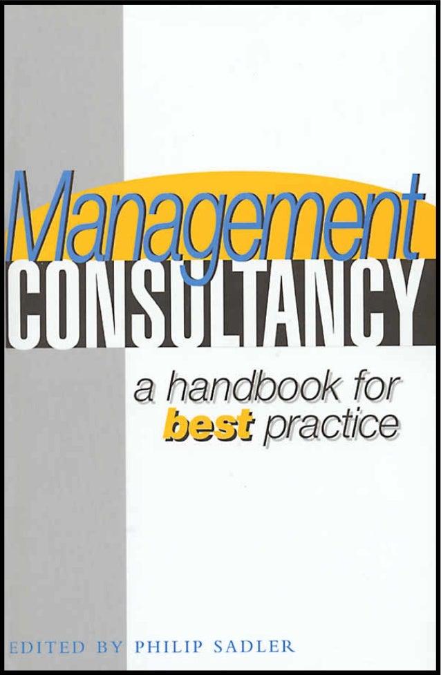 MANAGEMENTCONSULTANCY     a handbook of      best practice