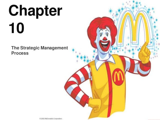 Chapter 10 The Strategic Management Process