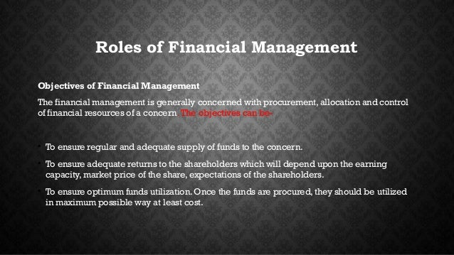 role of the financial manager The role of the financial manager, particularly in business, is changing in  response to technological advances that have substantially reduced the amount  of time.