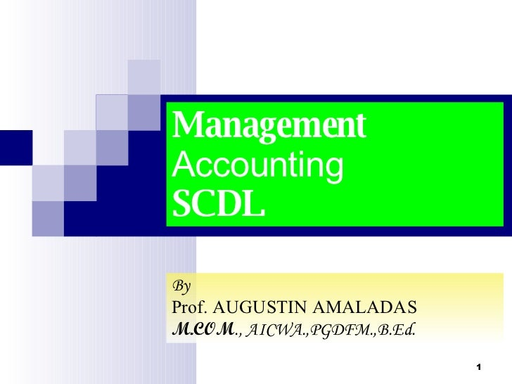 Case 5 management accounting