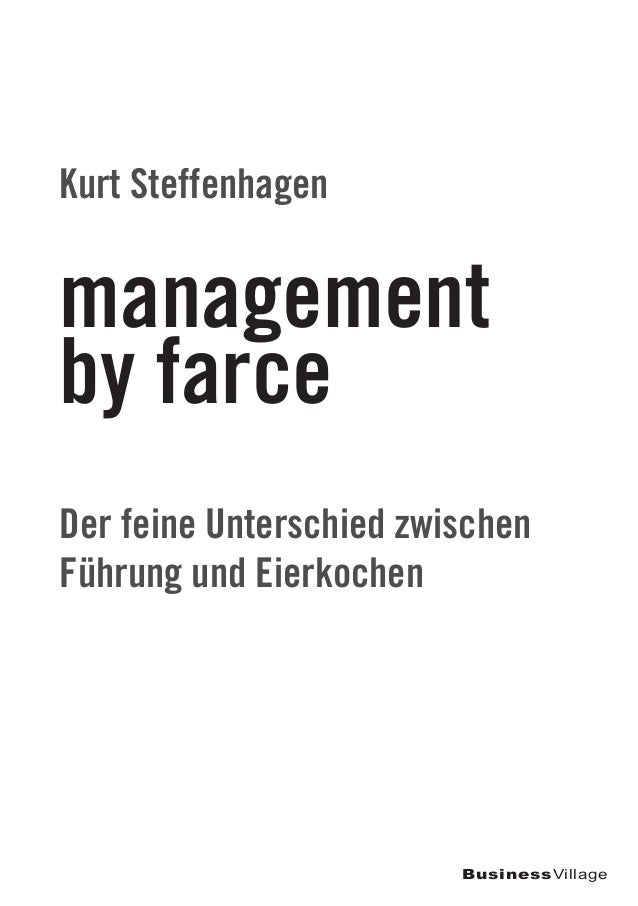 Management by farce for Farcical or farcical