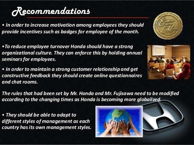 Honda Management And Organization
