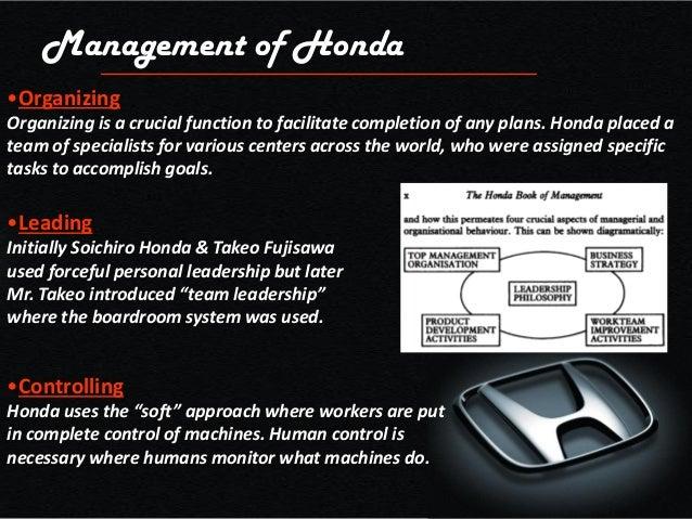 Honda Organizational Culture Essay - image 8