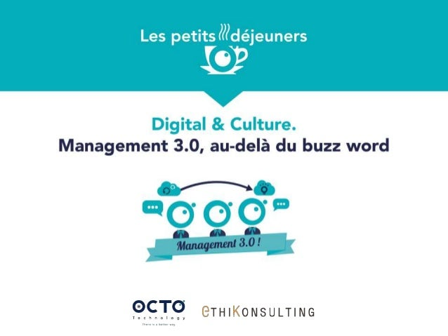 Intervenants DOMINIQUE BUINIER Senior Partner OCTO Technology ALBAN DALLE Coach Agile & Manager OCTO Technology FREDERIC R...