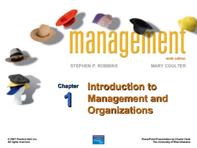 Management Book By Robbins