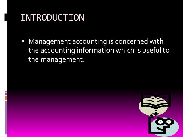 Management accounting Slide 2