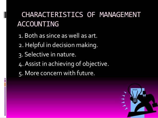 Management accounting Slide 3
