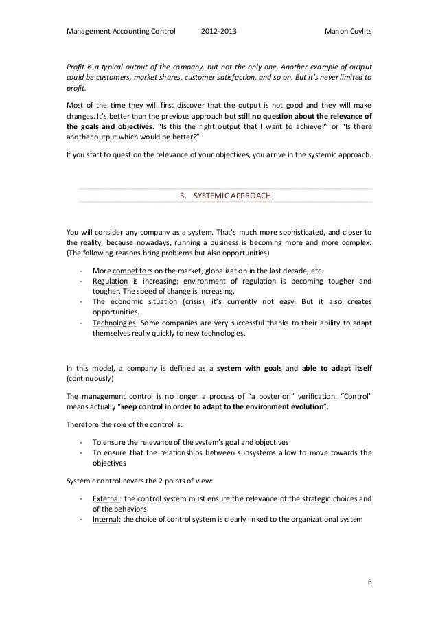 what is management accounting pdf