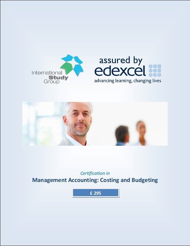 Management Accounting: Costs and Budgeting Essay
