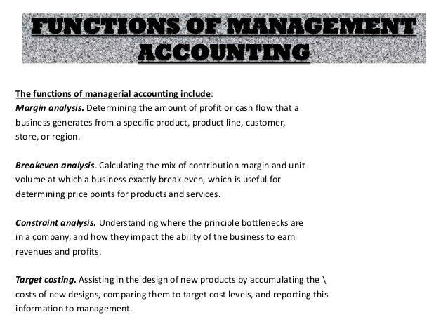 Management accounts  ppt (unit 1)