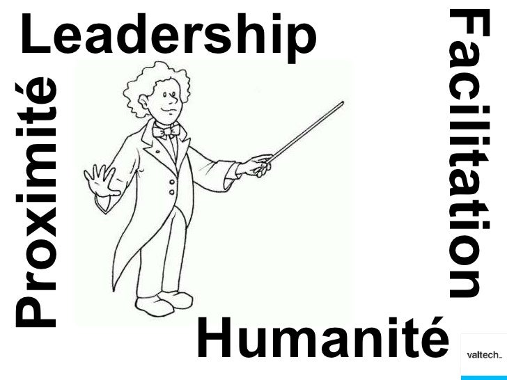 Leadership                   FacilitationProximité            Humanité