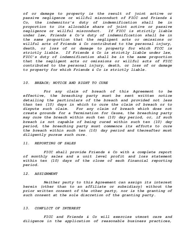 Management Agreement Sample