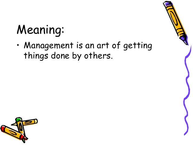 Management and its evolution Slide 2