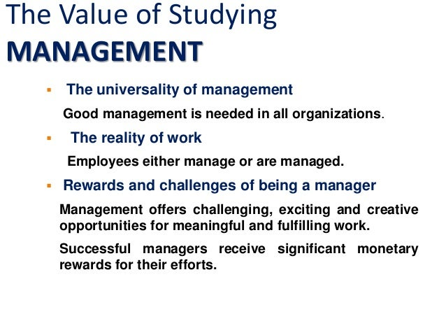 business management careers list