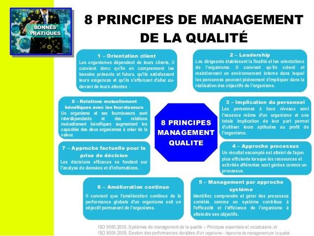 Management : Bonnes Pratiques