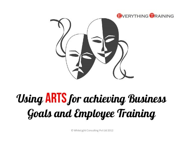 Using Arts for achieving Business  Goals and Employee Training           © WhiteLight Consulting Pvt Ltd 2012