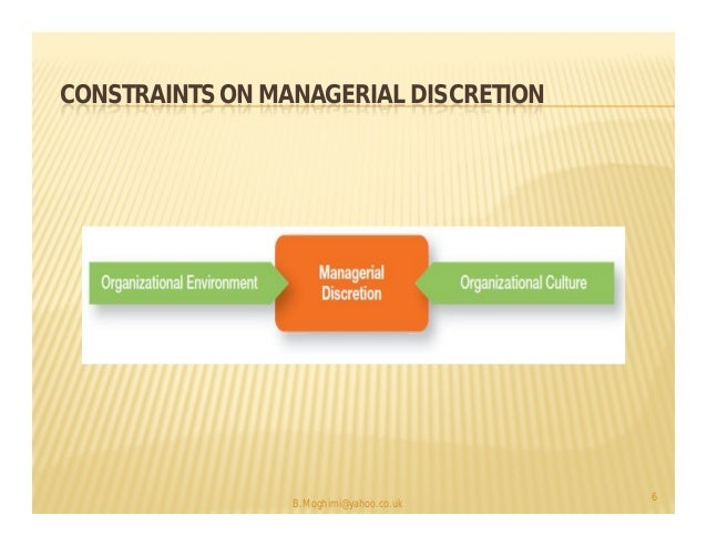 the omnipotent view of management Explanation: the symbolic view of management contends that a manager's   explanation: a company with an omnipotent view of management would tend to.