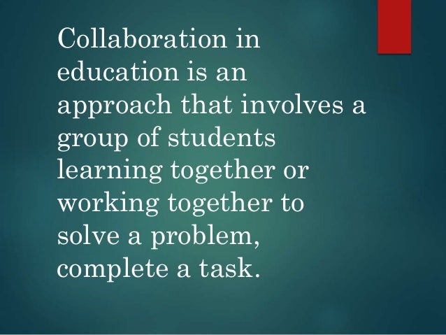 Collaborative Teaching Concepts ~ Collaboration