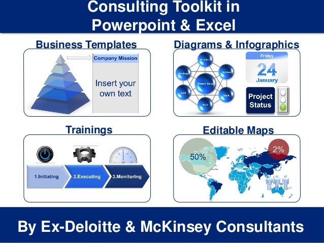 1 Insert your Company & Project names By Ex-Deloitte & McKinsey Consultants Business Templates Consulting Toolkit in Power...